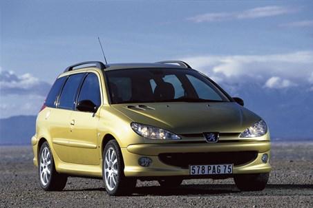 פיג'ו 206SW 1999-2009
